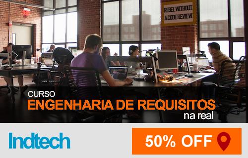 Curso Engenharia de Requisitos- 50% de Desconto